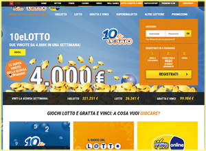 Lottomatica.it, recensione del sito di gioco d'azzardo italiana